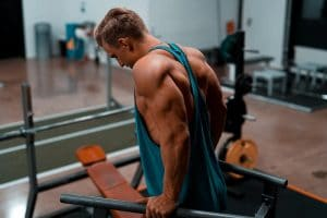 triceps dips for bigger arms