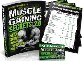 Jason Ferrrugia Muscle Gaining Secrets 2.0 review